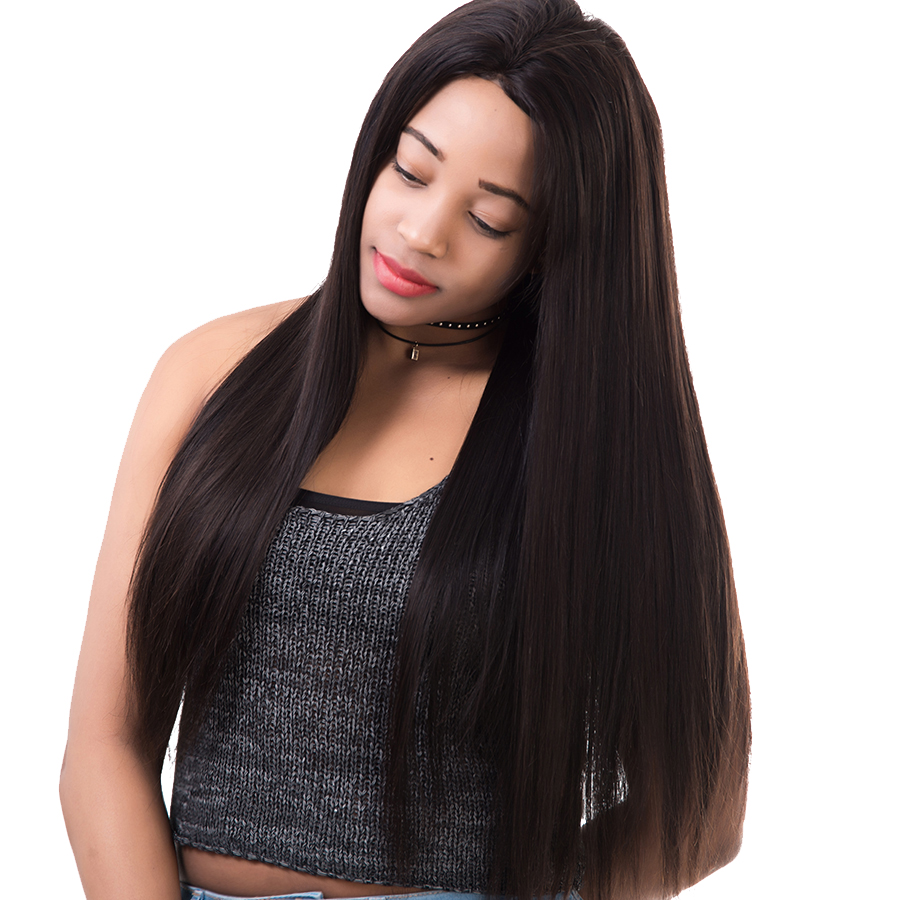150% Density Straight Full Lace Human Hair Wigs For Women Pre Plucked Brazilian Remy Lace Front Human Hair Wigs With Baby Hair