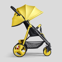Colorful Baby Cart Light Weight Baby Stroller Small Foldable Baby Pram Cabinet Stroller