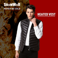 SNOWWOLF Infrared Heating Thermal Vests Men S Light Weight Insulated Heated Vest For Outdoor