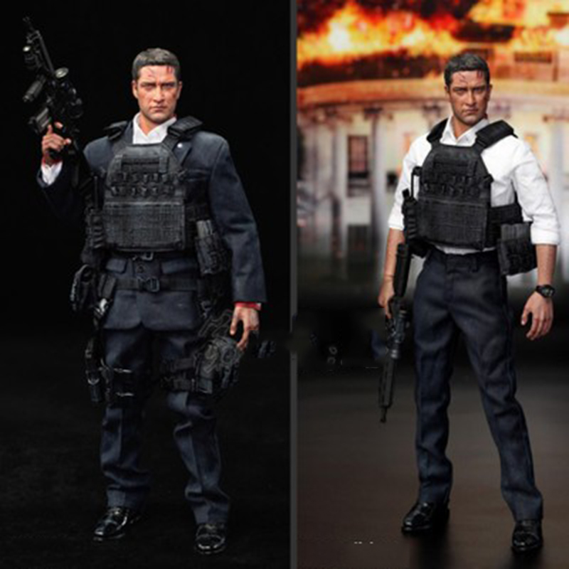 1/6 U.S Secret Service Special Agent Special Edition MARK Battle Damaged Version 12Colle ...