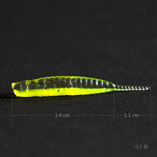 Fishing Soft Worm Lures 12pcs/lot 0.3g 3.5cm Swimbait Jig Head Soft Lure Fly Fishing Bait Carp Artificial Soft Lure Pesca Tackle sealurer 6pcs lot new 75mm 2 2g vivid soft lures artificial loach fishing bait swimbait fishing worm e fishing lures