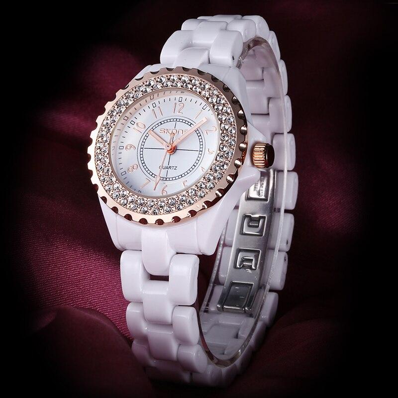 Relogio Feminino SKONE Women Watches Women Top Famous Brand Luxury Casual Quartz Watch Female Ladies Watches Women Wristwatches