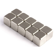 10pcs Strong Neodymium Magnet Cube Rare Earth Magnets Block 1.1Kg Pull Magnetic 5x5x5mm