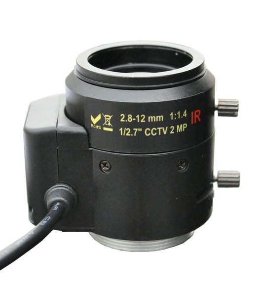 3-8mm lens 1:1.4 IR 1/2.7 CCTV 2MP LENS Mount CS For CCTV Security Camera Free shipping mool 1 3 cctv 2 8mm lens black for ccd security box camera