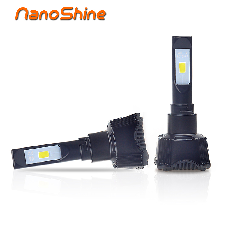 Nanoshine 70w car h7 led bulb h4 h1 h11 hb3 9005 hb4 9006 single beam auto headlight front fog lamp car light source 12V