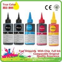 Mürekkep boya mürekkep Premium 450 451 550 551 150 151 250 251 Canon tüm 5 renkli yazıcı mürekkep kartuşu Ciss şişelenmiş mürekkep dolum kiti