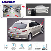 LiisLee Car camera For Alfa Romeo AR GT Nuvola Spider HD CCD Night Vision  Rear View Camera Reversing wireless LED