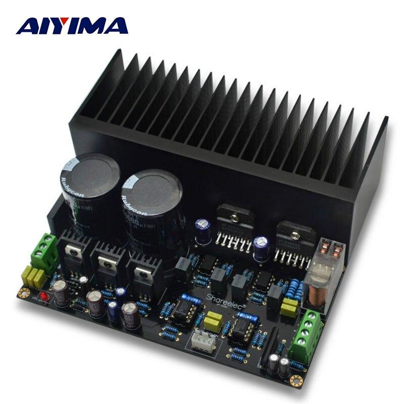 AIYIMA Amplificador Amplificateurs Audio LM3886 Stéréo Haute Puissance Amplificateur Conseil OP07 DC 5534 Indépendant OP Amp PCB DIY Kits