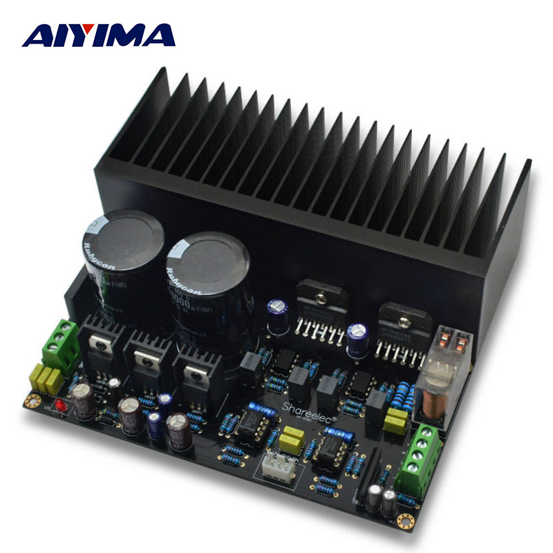 AIYIMA Amplificador Amplifiers Audio LM3886 Stereo High Power Amplifier Board OP07 DC 5534 Independent OP Amp PCB DIY Kits high performance stereo amplifier