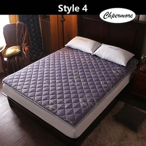 Image 3 - Chpermore thickening Sanding print Mattress Tatami Single double Foldable Mattresses Bedspreads King Queen Twin Size