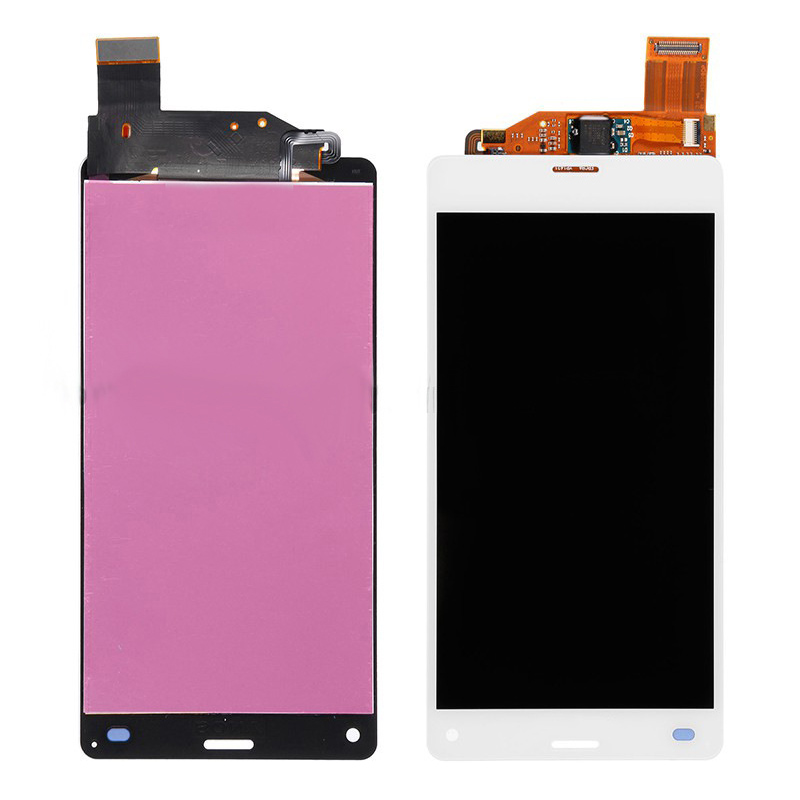 szHAIyu 5pcs Tested New Working LCD Display+Touch Screen For Sony Xperia Z3 Mini Compact LCD Display