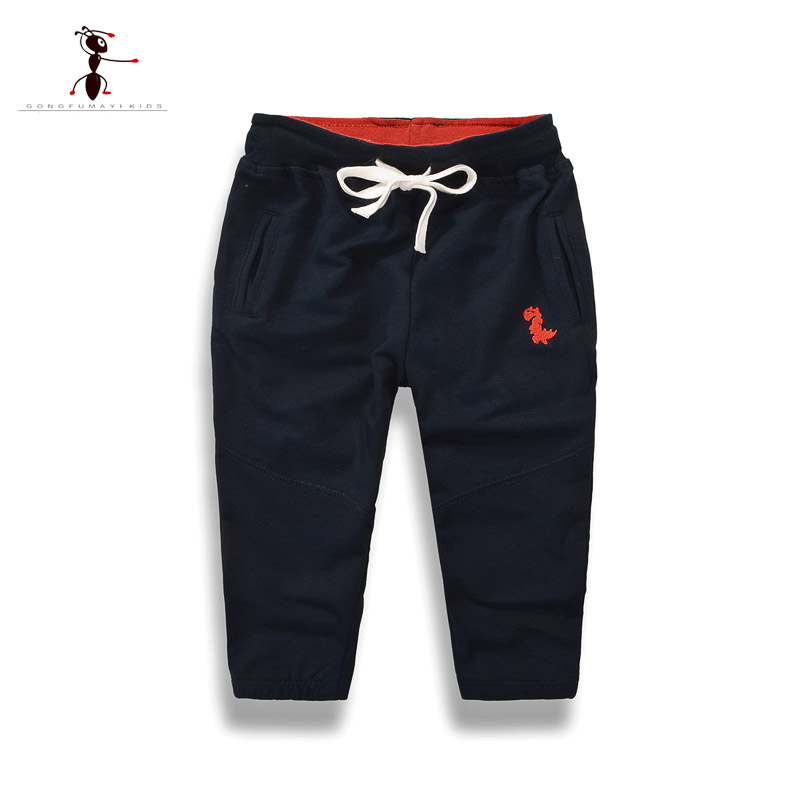 Kung Fu Ant 2018 Brand Pants Boys Pants Children Harem Pants Geometric Print Baby Girls Trousers Kids Toddler Cotton Clothing