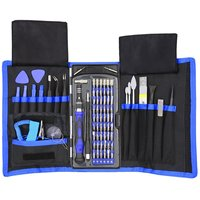 80 in 1 manual screwdriver kit Apple mobile phone computer electronic watch repair tool kit cell phone screwdriver microtech