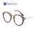 TenLon Gafas Redondas de La Vendimia Vidrios de la Impresión Gafas Marco Moda Gafas de grau femininos de Las Mujeres marco de anteojos