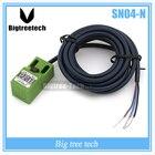 1PCS DC NPN NO 4mm Detection distance proximity detector sensor SN04-N for 3d printer parts 3D0206
