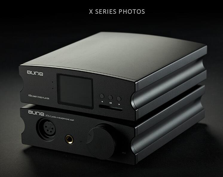 Aune X7S Class A HIFI Headphone Amplifier Balance Output Audio AMP w//Power