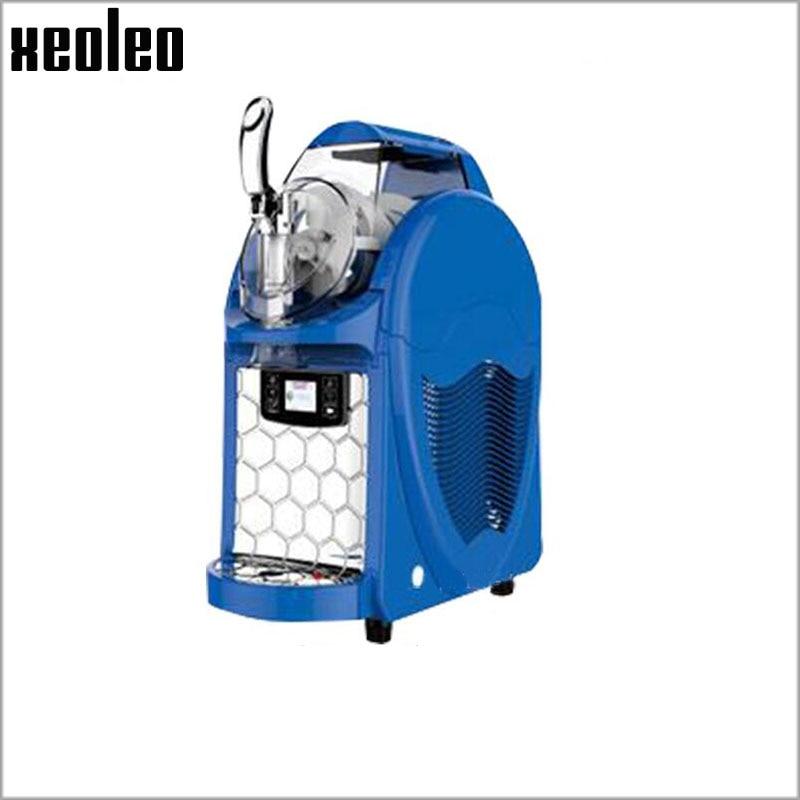 Xeoleo 6L Mini Ice cream maker  Single tank Slush machine Mini Slusher Soft Ice cream machine 220V/430W Ice slush