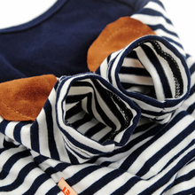 Beautiful stripped navy Sphynx Cat Sweather / Shirt
