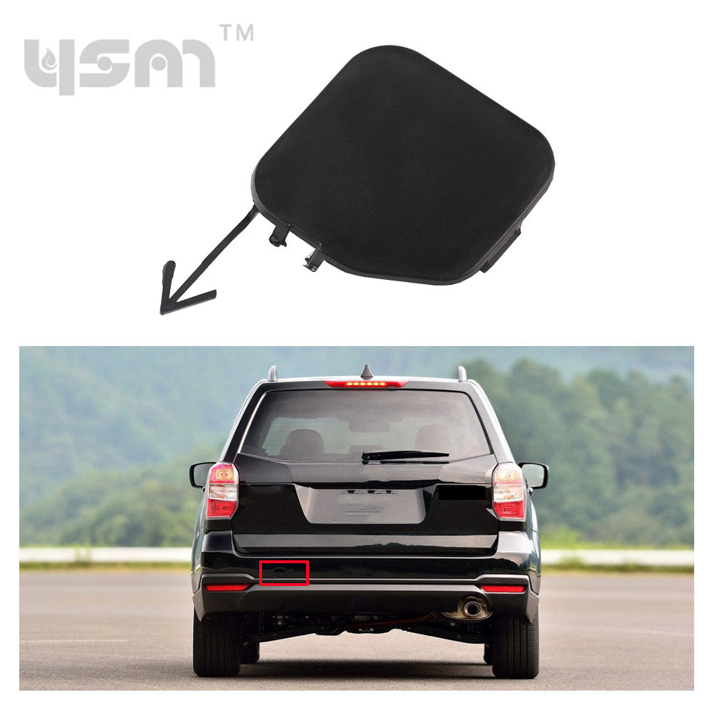 New Unpainted Rear Bumper Tow Eye Cover Cap for 2009-2013 Subaru Forester 57731SC050 57731 SC050