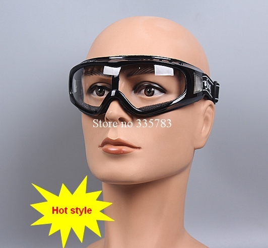 Free Shipping Safety Glasses Transparent Protective Glasses Dustproof Cycling Fishing Hiking Labor Protection Glasses