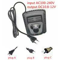 AC110 240V Replac Charger For Makita BL1013 BL1014 10 8V Li Ion Battery DC10WA DF030D DF330D