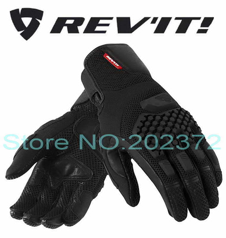 2016 Summer NEW REV'IT! SAND PRO desert motorcycle riding gloves motocross Motorbike glove black and red color size S M L