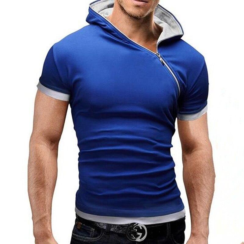 2016 Herren Polohemd Kurzhülse Polohemd Männer Feste Polo Homme Schlanke Herren Kleidung Camisas Mit Kapuze Camisa Polo Hemd
