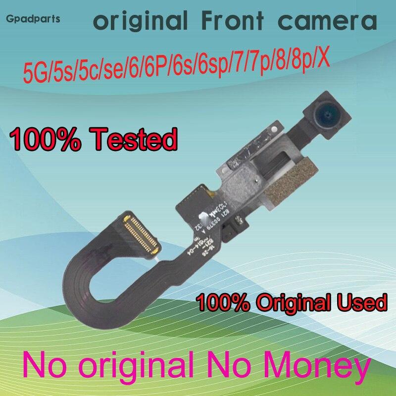 Original Rear For Iphone 7 8 X Front Facing Camera For IPhone 6 6s 6sp Plus Proximity Light Sensor Flex Cable Repair Part