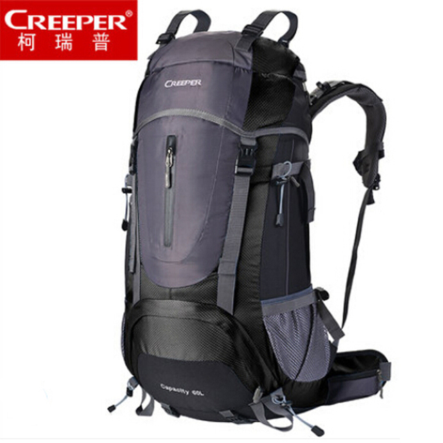 22fd841cec06 2018 CREEPER BRAND High quality Men and women hiking backpacks 60L Outdoor  Travel backpack Mountaineering bag Waterproof -in Climbing Bags from Sports  ...