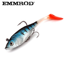 EMMROD T tail smooth fish bait 8.8g Seawater fishing Bait Tilapia Bait Lure package Faux Lure