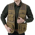 High quality Men Waistcoat Men's Vest  Photography Outerwear  Leisure vests Mans Tops