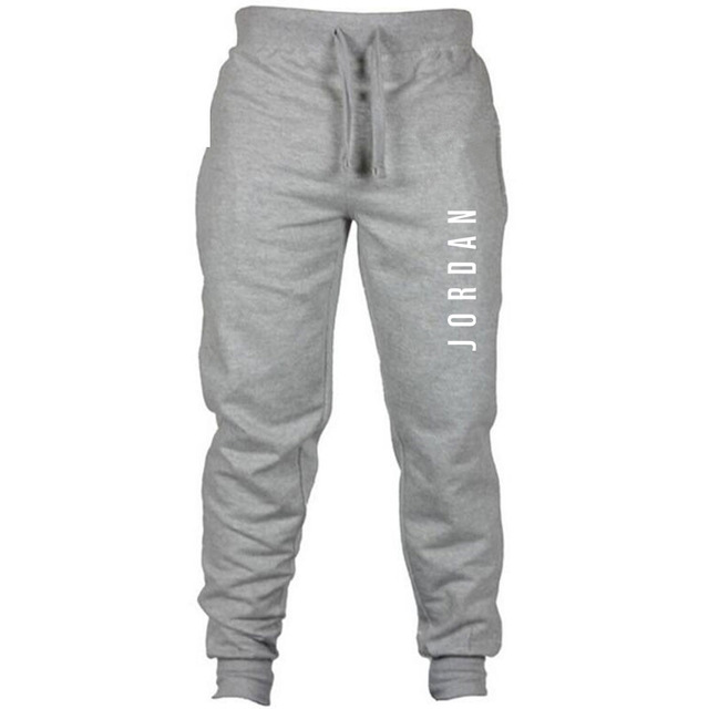 6adde0ba076 New Joggers Pants men Jordan letter print hip hop Keep warm winter  Sweatpants Pantalon Homme Trousers Sporting gyms Pants men