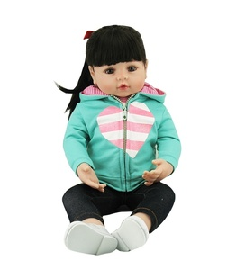 Image 2 - NPK Bebes Reborn doll 47CM silicone doll Girl Reborn Baby Doll Toy Lifelike Newborn Princess victoria Bonecas Menina for kids