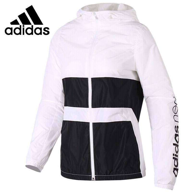 Original New Arrival 2018 Adidas Neo Label W WB CLR BLCK Women's jacket Hooded Sportswear original new arrival 2017 adidas neo label w woven s pants women s pants sportswear