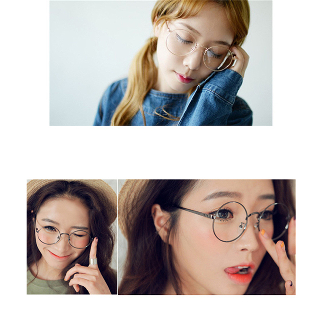 RILIXES DH  Eye Picture Frame Fashion Men And Women  Glasses European Trend Plain Glass Spectacles Frame Trendsetter Necessary
