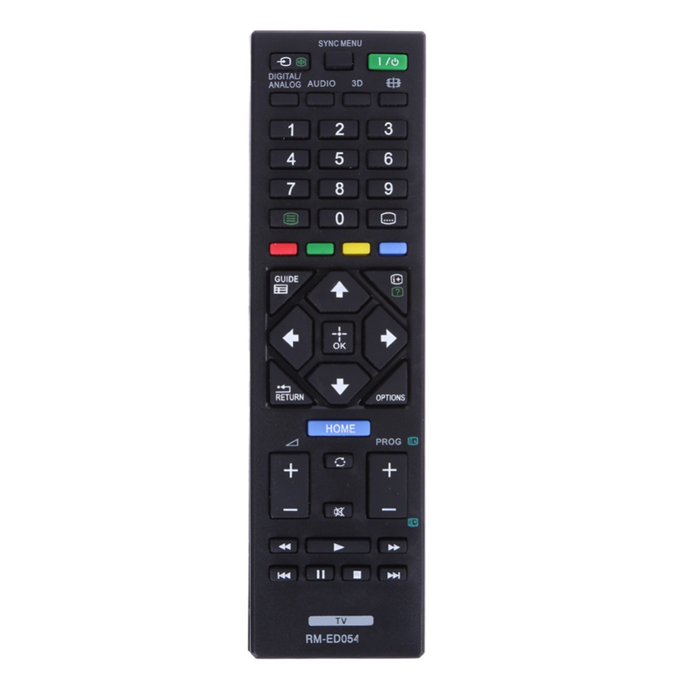 Universal Remote Control RM-ED054 for Sony LCD TV for KDL-32R420A KDL-40R470A KDL-46R470A genuine hongdak rm s1am 1 2 lcd wired remote control camera timer for sony alpha dslr a100 more