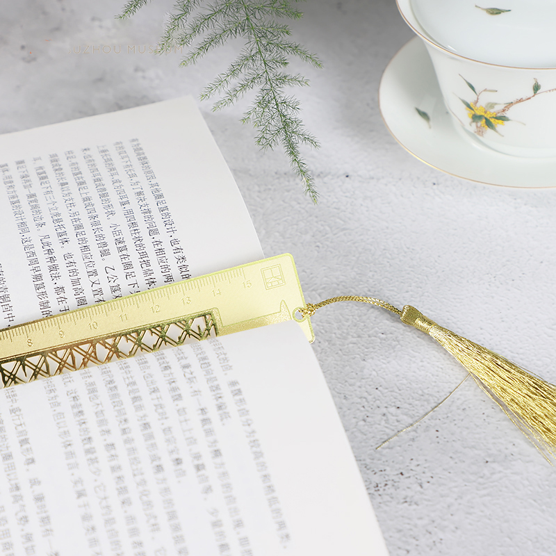 Sword And Ruler Bookmarks Ancient Style Metal Hollow Out Students creative Stationery Gifts in Rulers from Office School Supplies