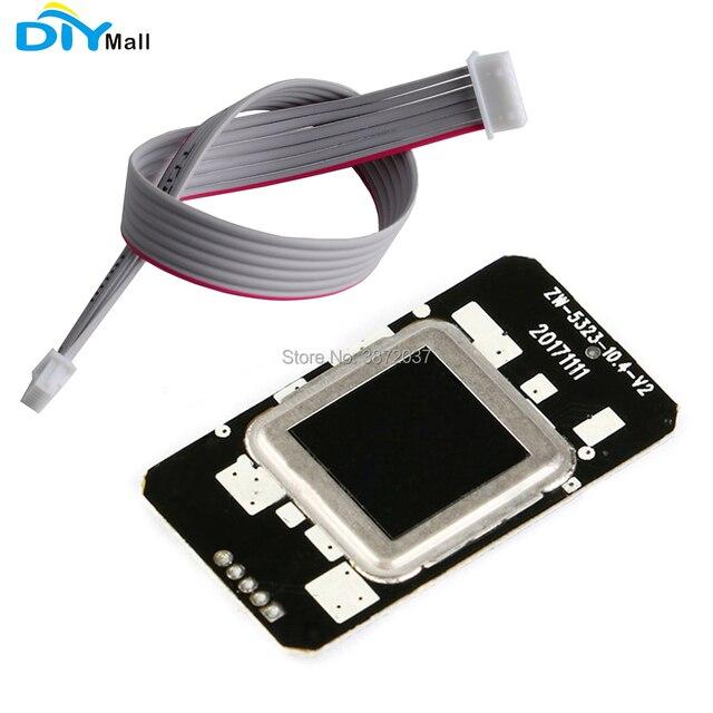 DIYmall FPC1020A Điện Dung Vân Tay Module Bán Dẫn Vân Tay Module Nhận Dạng Người Đọc Máy Quét Module