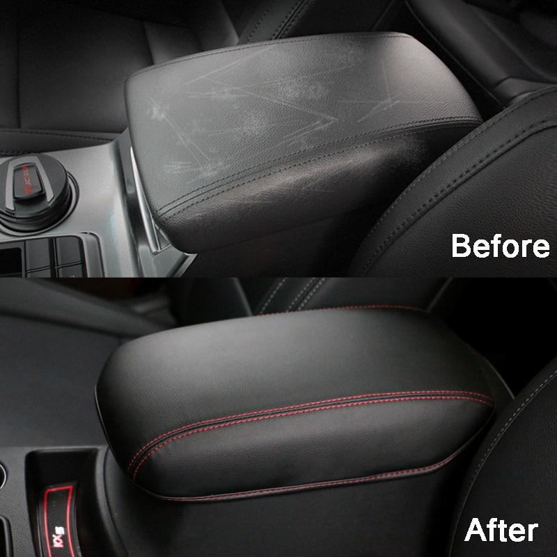 Կաշվե մեքենա բազկաթոռի ծածկոցներով - Ավտոմեքենայի ներքին պարագաներ - Լուսանկար 5