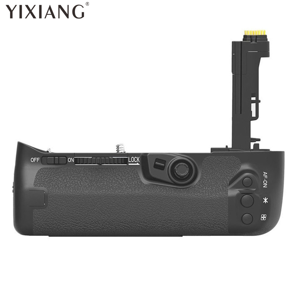 YIXIANG Battery Hand Handle Grip Holder Pack Vertical Power Shutter For Canon EOS 7D Mark II 7DII 7D2 Camera as BG-E16 BGE16 battery hand handle grip holder 2 step vertical power shutter for nikon d200 dslr camera as mb d200 2 x en el3e car charger