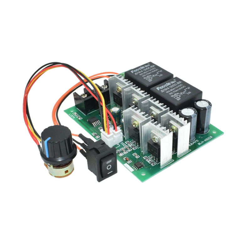 PWM positive inversion dc motor speed controller 40A drive module brush motor 12V 24V 36VPWM positive inversion dc motor speed controller 40A drive module brush motor 12V 24V 36V