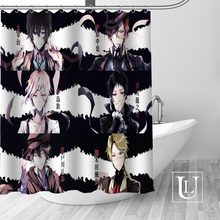 Bungou Stray Dogs Shower Curtains Custom Bathroom Curtain Waterproof Bathroom Fabric Polyester Shower Curtain High Quality(China)