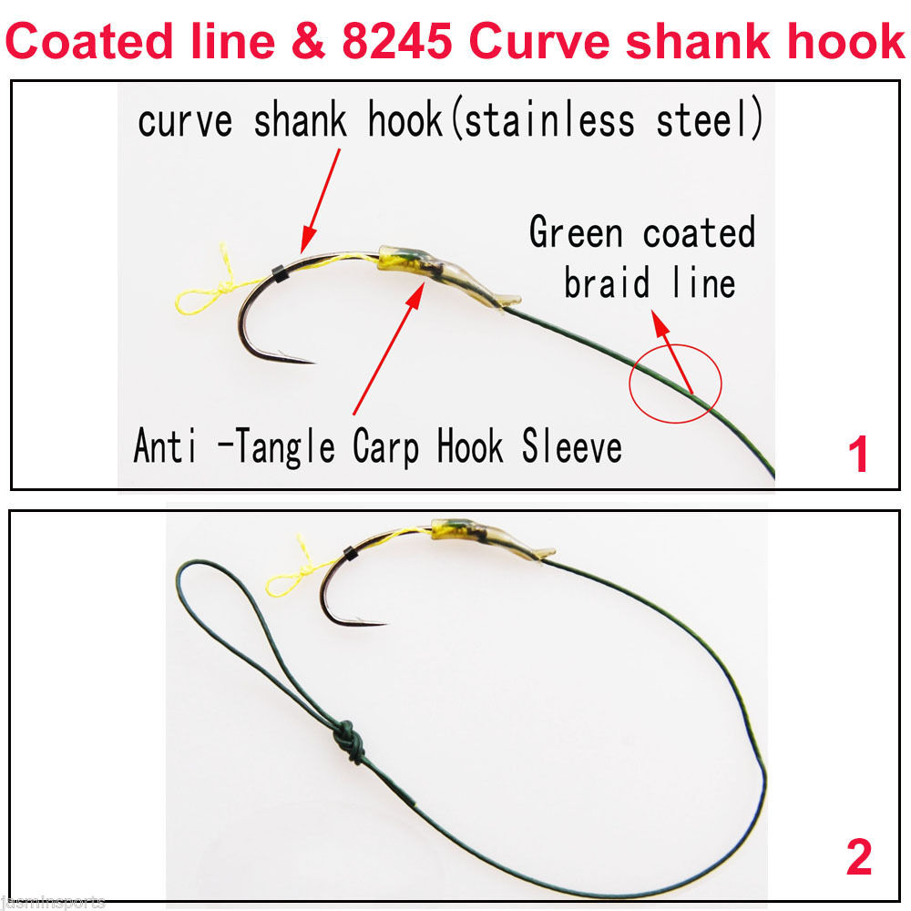 18pieces3packslot hair rigs green coated line curve shank carp 18pieces3packslot hair rigs green coated line curve shank carp fishing hooks sabiki rigs fishing accessories size 2 4 6 in fishing lures from sports pooptronica Images