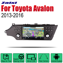 ZaiXi Auto Radio 2 Din Android Car DVD Player For Toyota Avalon 2013~2016 GPS Navigation BT Wifi Map Multimedia system Stereo zaixi auto radio 2 din android car dvd player for toyota corolla 2013 2016 gps navigation bt wifi map multimedia system stereo