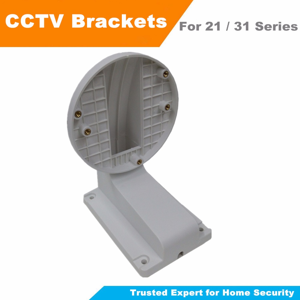 Free Shipping Wall Mount Bracket CCTV Camera Accessories For Hik 21xx 31xx Series Dome Camera CCTV Bracket DS-1258ZJ ds 1276zj corner mount bracket for cctv camera