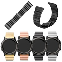NOTO Four Colors 26mm Width Classic Stainless Steel Metal Strap For Garmin Band Metal Band For