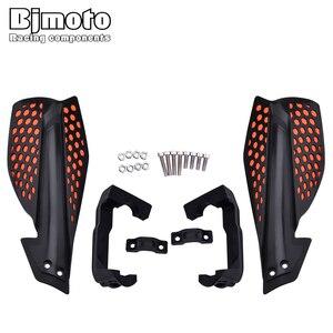 Image 2 - BJMOTO מוטוקרוס יד משמרות Handguard מגן הגנה עבור אופנוע אופני עפר בור אופני טרקטורונים Quads עם 22mm Handbar