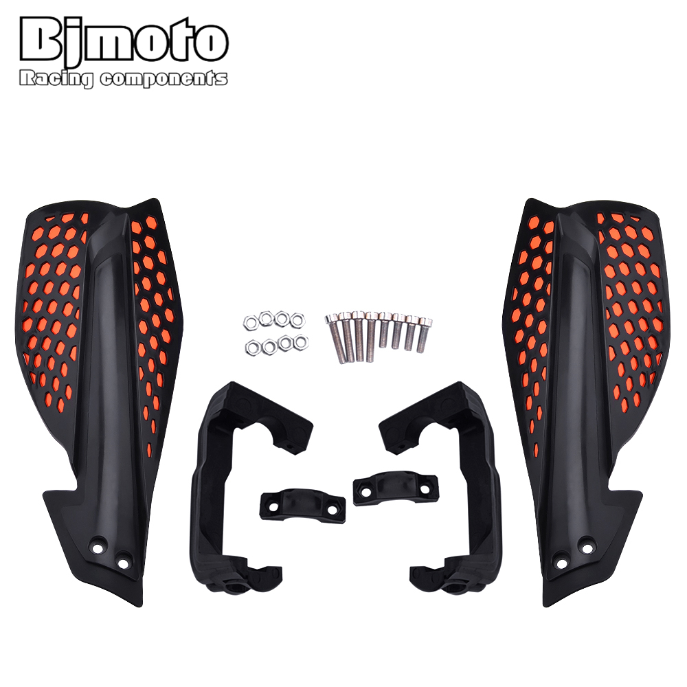 Image 2 - BJMOTO Motocross Hand Guards Handguard Protector Protection For Motorcycle Dirt Bike Pit Bike ATV Quads with 22mm Handbar-in Falling Protection from Automobiles & Motorcycles