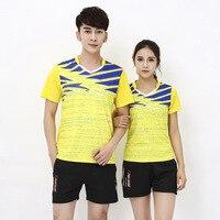 CHINA Badminton shirt Men/Women,quick-dry Table Tennis T shirts suit,volleyball training jerseys,Tennis shorts badminton clothes