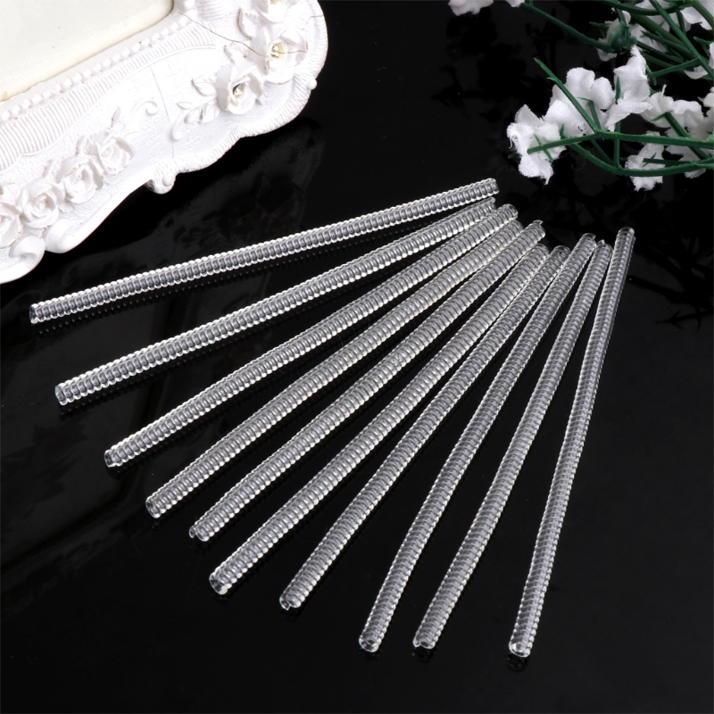 JAVRICK 10Pcs Vintage Spiral Based Ring Size Adjuster Shellhard Guard Tightener Reducer Resizen Tools Jewelry Parts NEW